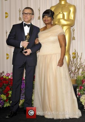 Christoph Waltz and Octavia Spencer