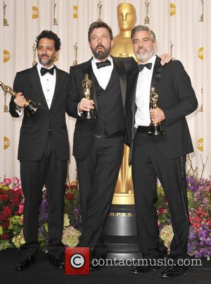 Grant Heslov, George Clooney and Ben Affleck