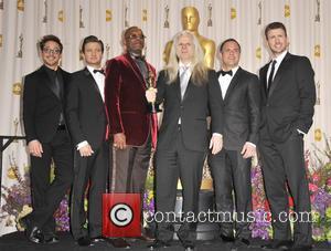 Robert Downey Jr., Jeremy Renner, Samuel L. Jackson, Claudio Miranda, Mark Ruffalo and Chris Evans