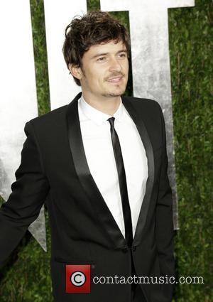 Orlando Bloom - 2013 Vanity Fair Oscar Party at Sunset Tower - Arrivals - West Hollywood, California, United States -...