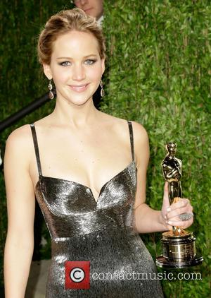 Jennifer Lawrence - 2013 Vanity Fair Oscar Party at Sunset Tower - West Hollywood, California, United States - Sunday 24th...