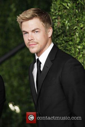 Derek Hough - 2013 Vanity Fair Oscar Party at Sunset Tower - Arrivals - West Hollywood, California, United States -...