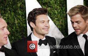 Ryan Seacrest and Derek Hough