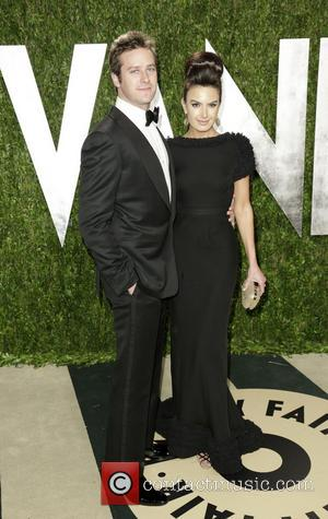 Armie Hammer and Elizabeth Chambers - 2013 Vanity Fair Oscar Party at Sunset Tower - Arrivals - West Hollywood, California,...