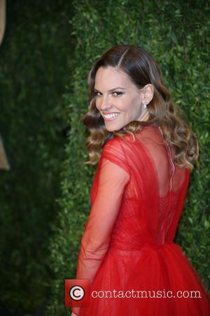 Hilary Swank - 2013 Vanity Fair Oscar Party at Sunset Tower - West Hollywood, United States - Sunday 24th February...