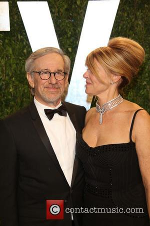 Steven Spielberg and Kate Capshaw - 2013 Vanity Fair Oscar Party at Sunset Tower - West Hollywood, United States -...