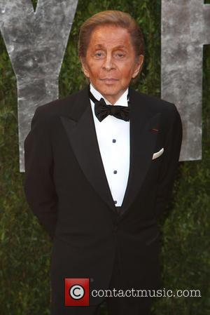 Valentino - 2013 Vanity Fair Oscar Party at Sunset Tower - Arrivals - West Hollywood, California, United States - Sunday...