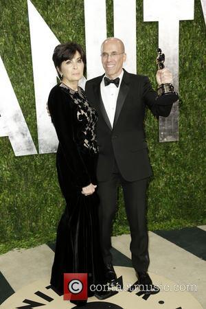 Jeffrey Katzenberg and Marilyn Katzenberg - 2013 Vanity Fair Oscar Party at Sunset Tower - Arrivals - Los Angeles, CA,...