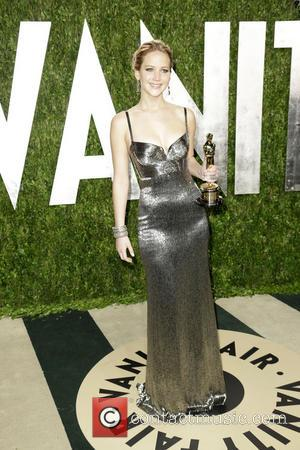 Jennifer Lawrence - 2013 Vanity Fair Oscar Party at Sunset Tower - Arrivals - Los Angeles, CA, United States -...