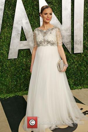 Georgina Chapman - 2013 Vanity Fair Oscar Party at Sunset Tower - Arrivals - Los Angeles, California, United States -...