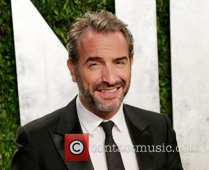 Jean Dujardin - 2013 Vanity Fair Oscar Party at Sunset Tower - Arrivals - Los Angeles, California, United States -...