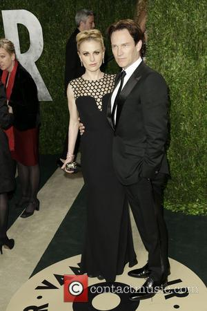 Anna Paquin and Stephen Moyer - 2013 Vanity Fair Oscar Party at Sunset Tower - Arrivals - Los Angeles, CA,...