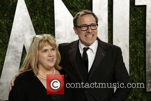 David O. Russell and guest - 2013 Vanity Fair Oscar Party at Sunset Tower - Arrivals - Los Angeles, CA,...