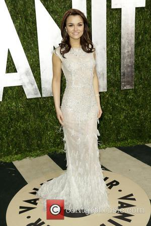 Samantha Barks - 2013 Vanity Fair Oscar Party at Sunset Tower - Arrivals - Los Angeles, CA, United States -...