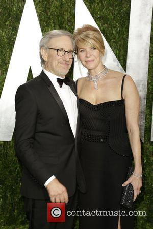 Steven Spielberg and Kate Capshaw