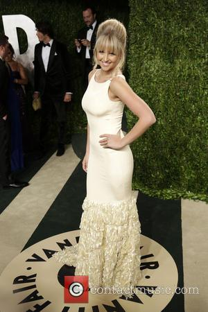 Model Genevieve Morton - 2013 Vanity Fair Oscar Party at Sunset Tower - Arrivals - Los Angeles, CA, United States...