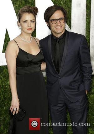 Dolores Fonzi and Gael Garcia Bernal - 2013 Vanity Fair Oscar Party at Sunset Tower - Arrivals - Los Angeles,...