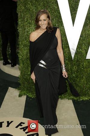 Donna Karan - 2013 Vanity Fair Oscar Party at Sunset Tower - Arrivals - Los Angeles, California, United States -...