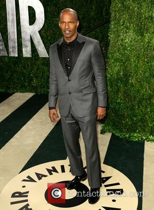 Jamie Foxx - 2013 Vanity Fair Oscar Party at Sunset Tower - Arrivals - Los Angeles, California, United States -...
