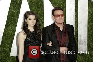 Eve Hewson and Bono - 2013 Vanity Fair Oscar Party at Sunset Tower - West Hollywood, California, United States -...