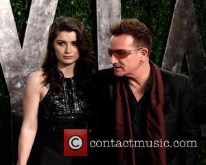 Eve Hewson and Bono