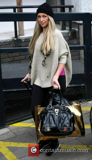Josie Gibson - Celebrities at the ITV studios - London, United Kingdom - Monday 25th February 2013