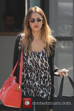 Jessica Alba - Jessica Alba is seen  out running errands in West Hollywood - Los Angeles, CA, United States...