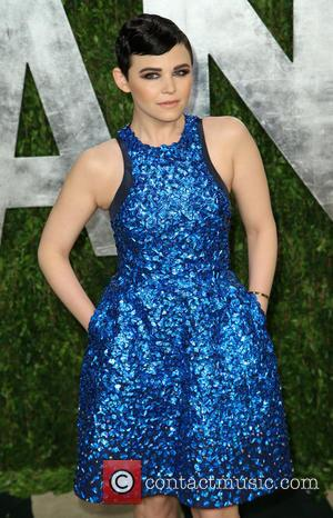 Ginnifer Goodwin - 2013 Vanity Fair Oscar Party at Sunset Tower - Arrivals - West Hollywood, California, United States -...