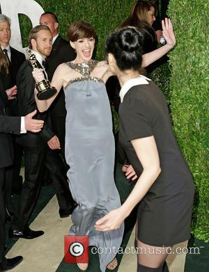 Anne Hathaway and Sarah Silverman