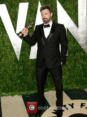 Ben Affleck - Vanity Fair Oscar Party