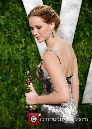 Jennifer Lawrence - Vanity Fair Oscar Party