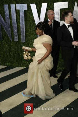 Octavia Spencer - 2013 Vanity Fair Oscar Party at Sunset Tower - Arrivals - Los Angeles, California, United States -...