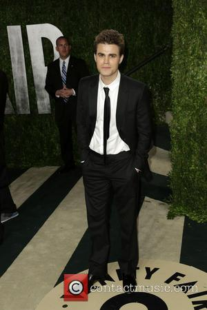 Paul Wesley - 2013 Vanity Fair Oscar Party at Sunset Tower - Arrivals - Los Angeles, California, United States -...