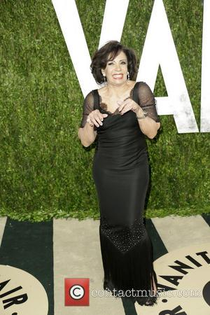 Singer Dame Shirley Bassey - 2013 Vanity Fair Oscar Party at Sunset Tower - Arrivals - Los Angeles, California, United...