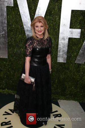 Arianna Huffington - 2013 Vanity Fair Oscar Party at Sunset Tower - Arrivals - Los Angeles, California, United States -...