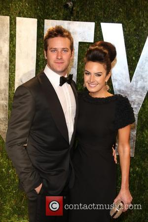 Armie Hammer and Elizabeth Chambers - 2013 Vanity Fair Oscar Party at Sunset Tower - Arrivals - Los Angeles, California,...