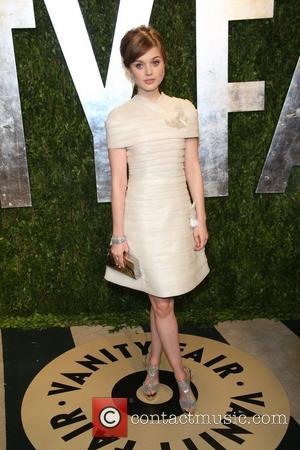 Bella Heathcote - 2013 Vanity Fair Oscar Party at Sunset Tower - Arrivals - Los Angeles, California, United States -...