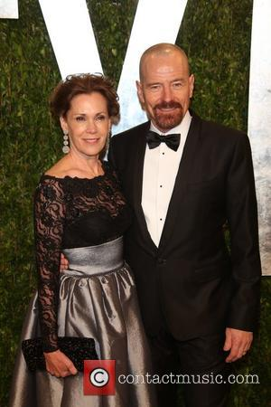 Bryan Cranston and Robin Dearden - 2013 Vanity Fair Oscar Party at Sunset Tower - Arrivals - Los Angeles, California,...