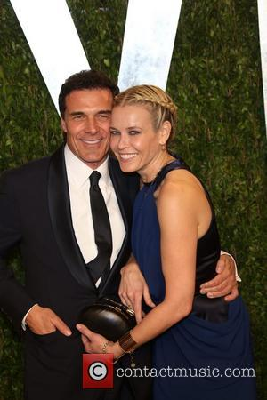 Chelsea Handler and Andre Balazs - 2013 Vanity Fair Oscar Party at Sunset Tower - Arrivals - Los Angeles, California,...