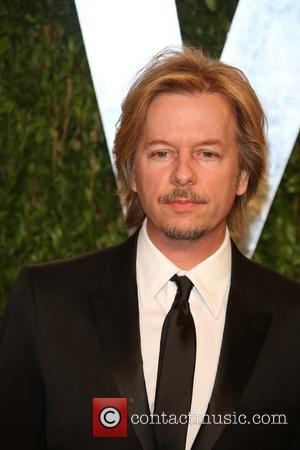 David Spade - 2013 Vanity Fair Oscar Party at Sunset Tower - Arrivals - Los Angeles, California, United States -...