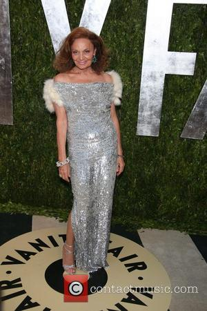 Diane Von Furstenberg Breaks Shoulder