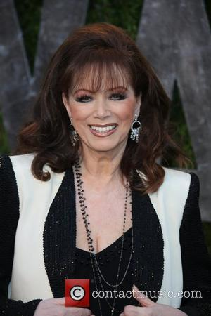 Jackie Collins - 2013 Vanity Fair Oscar Party at Sunset Tower - Arrivals - Los Angeles, California, United States -...