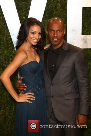 Jamie Foxx and Corinne Bishop - 2013 Vanity Fair Oscar Party at Sunset Tower - Arrivals - Los Angeles, California,...