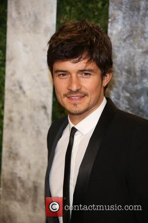 Orlando Bloom - 2013 Vanity Fair Oscar Party at Sunset Tower - Arrivals - Los Angeles, California, United States -...