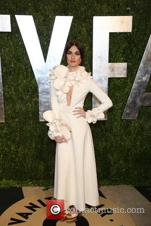 Paz Vega - 2013 Vanity Fair Oscar Party at Sunset Tower - Arrivals - Los Angeles, California, United States -...