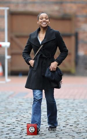 Krissi Bohn - Coronation Street stars arrive at Granada Studios to film an episode of the ITV show - Manchester,...