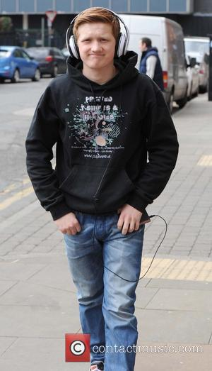Sam Aston - Coronation Street stars arrive at Granada Studios to film an episode of the ITV show - Manchester,...