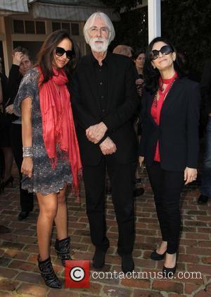 Hejer Anane, Michael Haneke and Cynthia Hajjar