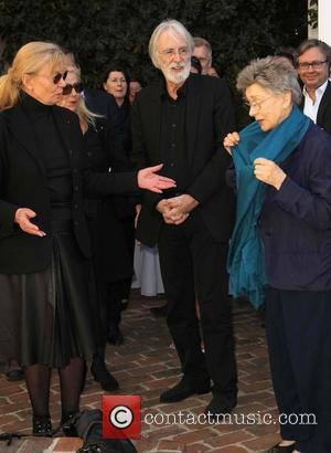 Margaret Menegoz, Michael Haneke and Emmanuelle Riva