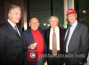 Jackie Stewart, Piero Ferrari, Sir Stirling Moss and Niki Lauda